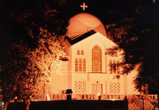st.Mark Maadi Church